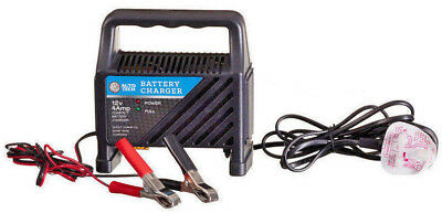 Auto Tech - Battery Charger - 12 Volt 4 Amp - Charge Rate 2.6 ADC
