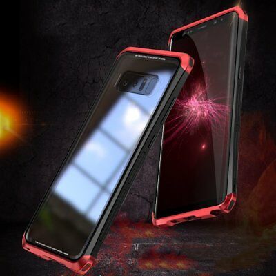 LUPHIE Toughened Glass Hard Phone Protective Case For Samsung S8 Plus/note 8 V3