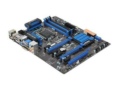 MSI Z77A-G45 LGA 1155 Intel Z77 HDMI SATA 6Gb/s USB 3.0 ATX Intel Motherboard