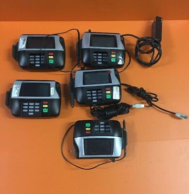 Lot Of (5)VeriFone MX860, M090-407-01-R, Point Of Sale Credit Card Payment