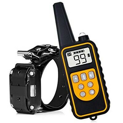 800M Dog Training Collar Vibration Shock Waterproof Rechargeable Remote Control