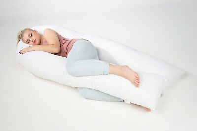 U Pillow Cushion Hug body Maternity Pregnancy Nursing Back support 12 or 9 ft