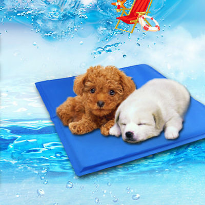 NEW Dog Cat Pet Bed Non-Toxic Cooling Cool Water Cooling Gel Mat Summer Pad OZ