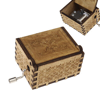 WE Children Music Box Harry Potter Hedwig's Theme Engraved Toy Gift Home Decor