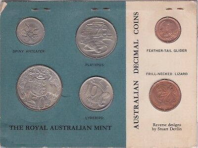 1966 Uncirculated 6 Coin Australian Set Sealed