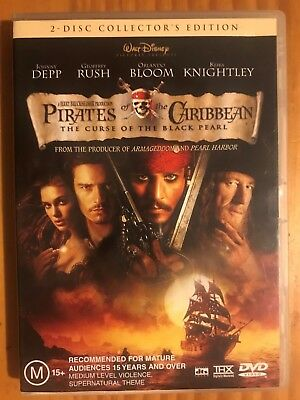 Pirates of the Caribbean: The Curse of the Black Pearl - DVD (2 Disc Edition)