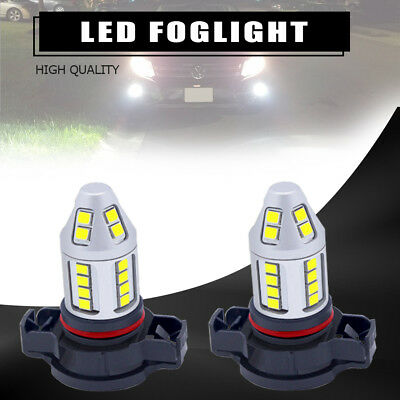 Two Pieces H16 5202 9009 30w High Power Bright Car LED Bulbs 30-SMD Fog light