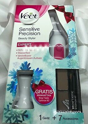 VEET Sensitive Precision Beauty Styler + GRATIS Manhattan Eye Brow Kit *neu* ❤️
