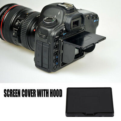 3 Inch Camera LCD Monitor Screen Cover Sun Shade Hood Flexible Protective Cover