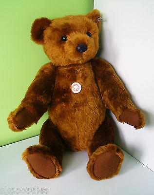 Steiff LED Replica 1902  Bear 55 PB EAN 404009 Soft Mohair Toy