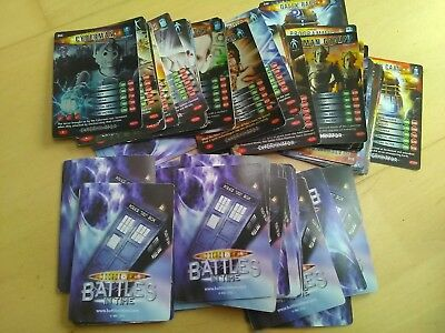 Dr Doctor Who - Battles in Time - over 100 cards good condition