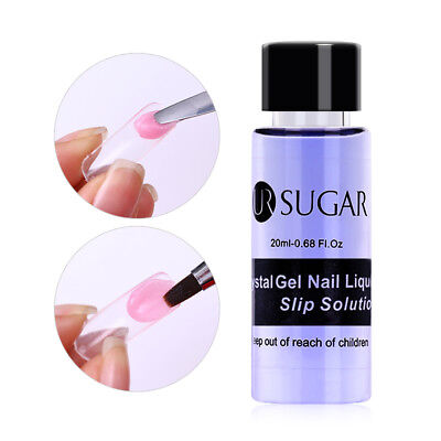 UR SUGAR 20ml Crystal Gel Nail Liquid Slip Solution Acrylic Builder Extended