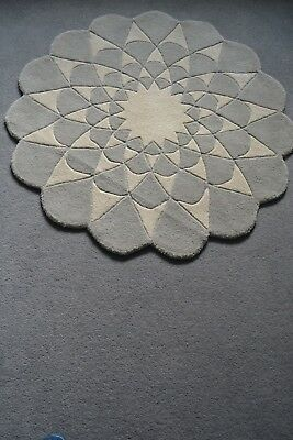 Mamas and Papas Niki Jones Large Lotus Floor Nursery Wool Rug RRP £120
