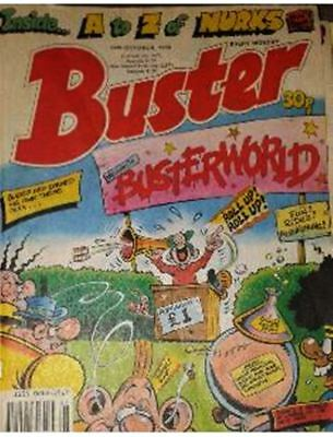 Buster Comic 14/10/1989