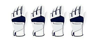 ***New***  (4) Mens All Cabretta Leather Golf Gloves (Left Hand)