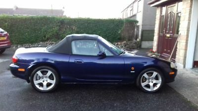2003 mazda mx5, 1.8 Nevada,  good engine and gearbox,  4good tyres, new battery,