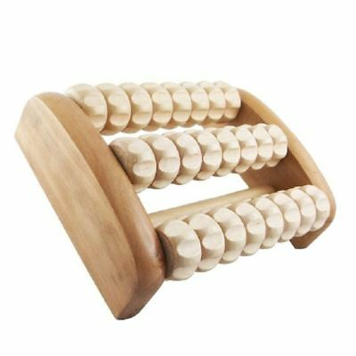 Source Balance Wood Foot Massager (Large 3 Rollers)