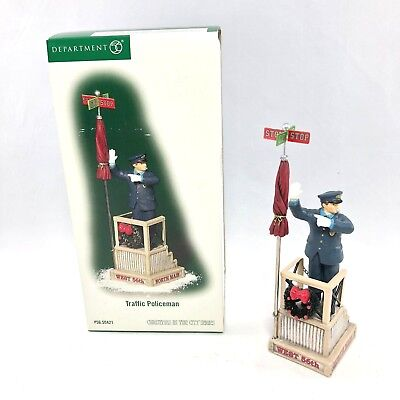 Department 56 Christmas In The City Series Traffic Policeman