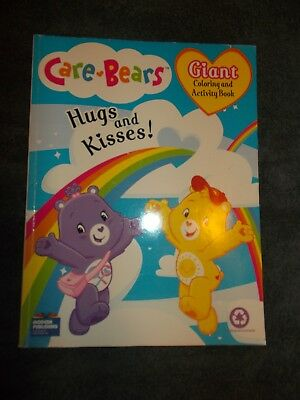 Care Bears Giant Coloring and Activity Book: Hugs and Kisses! (96 Pages) UNUSED