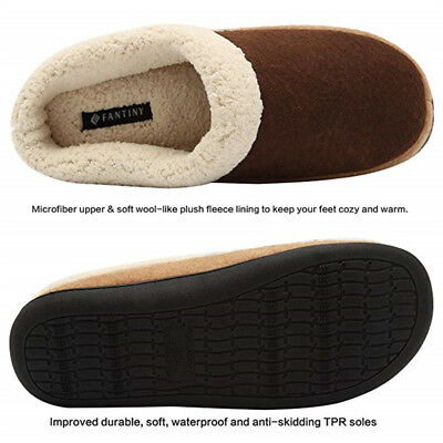 cheapest best selling hot product MENS WINTER HOME Indoor Slippers Warm Cotton Cozy Shoes Non ...
