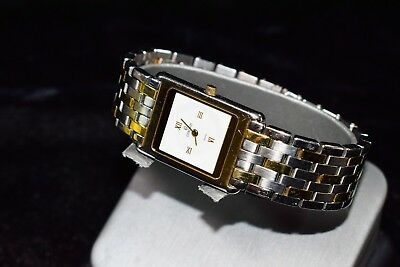 Concord Ladies Delirium Wrist Watch 15.90.668 DM Two Tone Great Running