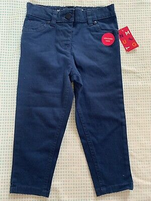 Girls 18-24 Months Soft Feel Skinny Jeans Chinos Blue BNWTS