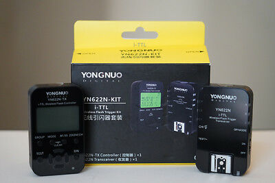 Yongnuo YN622N wireless flash trigger transceiver Kits for NIKON digital camera-