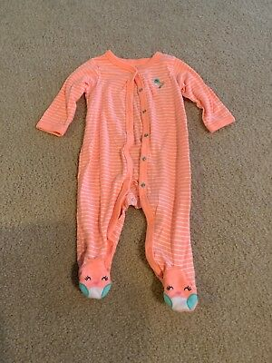 Baby Girl Carters Sleeper Size 9 Months