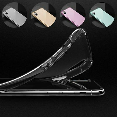 Ultra Clear Shockproof Bumper Back Case Cover fr iPhoneXS MAX XR X 8 7Plus 6s C9