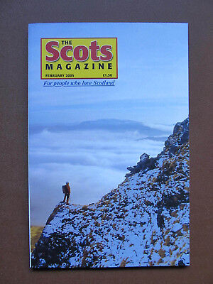 SCOTS MAGAZINE Feb 2005 - Made in Scotland - Airdrie Observatory - Nurse Cadell