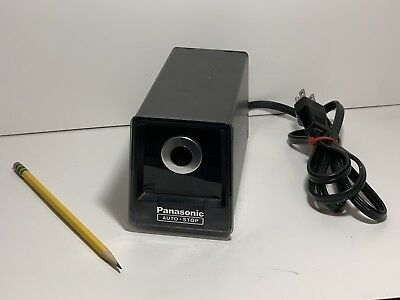 Clean! Panasonic Auto-Stop Electric Pencil Sharpener KP-77-SHIPS QUICK & FREE!