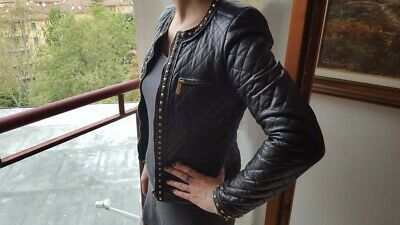 0f719805a1 GIACCA DONNA IN pelle nera ATOS LOMBARDINI / Black leather jacket