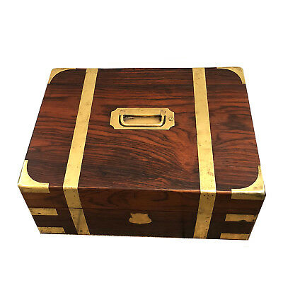 English Rosewood Campaign Document Box