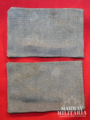 WW2 3rd Cdn Infantry Division CANVAS Formation Shoulder Flash Pair (inv15473)