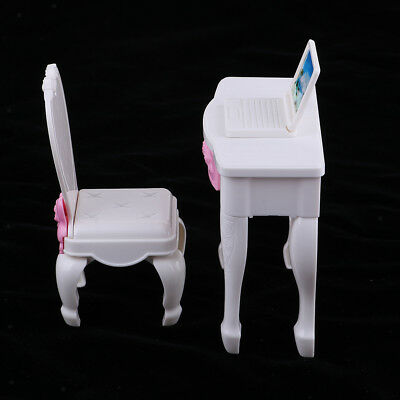 Fashion Doll Playset Table and Chairs for Monster High Dolls House Furniture