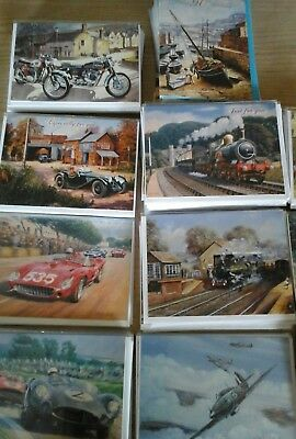 25mens transport cards, wholesale joblot greeting cards