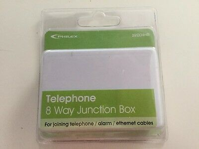 Philex 8 Way Telephone Joint Box - New And Sealed