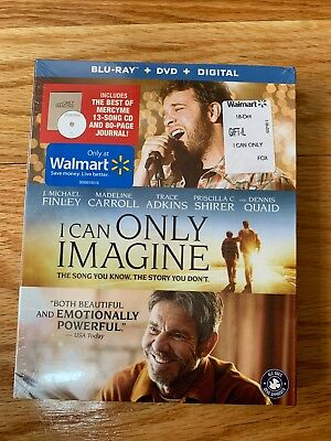 I Can Only Imagine Blu-Ray/DVD 3-Disc Set Includes CD + 80 Page Journal Digital