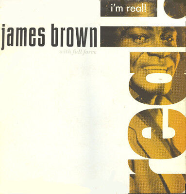"""James Brown With Full Force – I'm Real,12"""" Vinyl,POLD 5230,1988, Funk / Soul"""