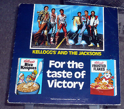 Kelloggs and The Jacksons For the taste of Victory