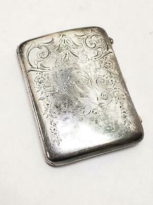 Antique Gorham Sterling Silver (B1021) Cigarette Case (HE2015133)