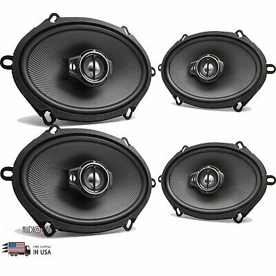 Kenwood KFC-C5795PS 5X7 Speakers With Wiring Harness Fits Ford 1 Pair 80Watt Rms