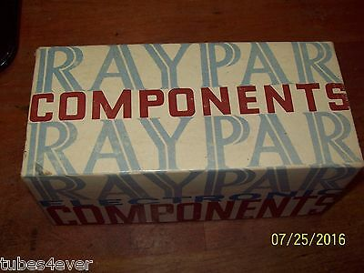 Raypar No. RL-111 R.F. Choke Coil 12 to 55 McS (MHZ) New In Box