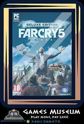 Far Cry 5 PC Deluxe Edition - Gioco Italiano Originale FC 5 Far Cry 2018