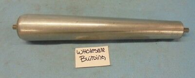 """Tapered Conveyor Roller, 15"""" Bf, 1.7""""  - 2.5"""" Dia., 7/16"""" Hex Shaft"""