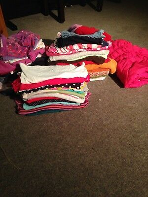 Huge Bundle Of Girls Clothes Age 9-12 Months 58 Items!