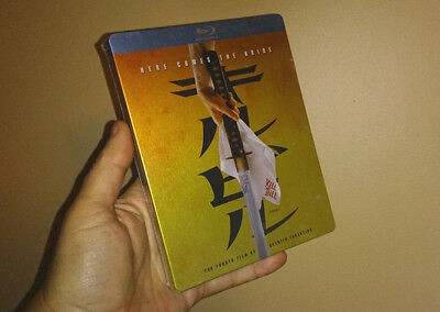 Blu-ray Quentin Tarantino KILL BILL Volume 1 STEELBOOK + Vols 1+2 A/B/C OOP NEW