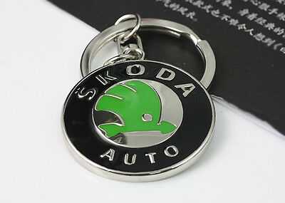 Skoda Car Key Chain Keychain Keyfob Keyrings