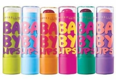 Maybelline Baby Lips 8H Moisturising Flavoured Lip Balm *choose Your Flavour*