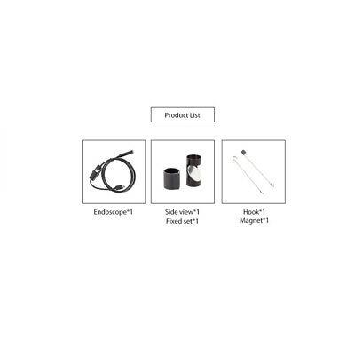 3 in 1 Waterproof USB Port Ear and Nose Endoscope 7mm Visual Lens Mini L9X6